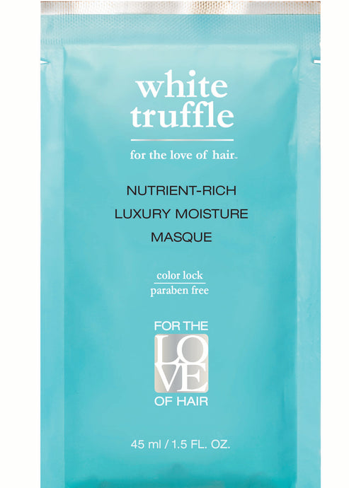 White Truffle Nutrient Rich Moisture Masque Travel Size Set of 3 Packets