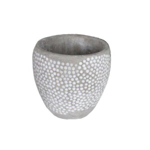 Dart Dot Planter Cement 12x12cm