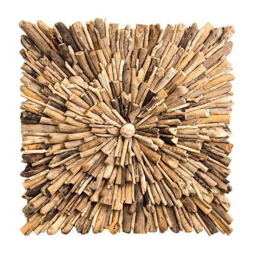 Iridami Wood Decoration Driftwood 80x80cm