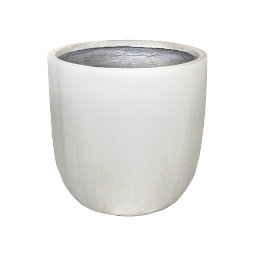 GardenLite Egg Planter White 25x25cm