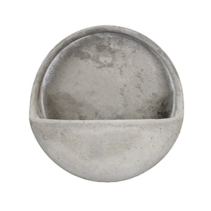 Dart Wall Pot Cement 21x7cm