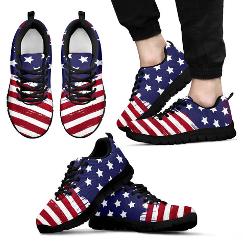 USA COLLECTION - Men's Sneakers blk