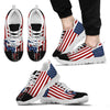 Image of American Flag Punisher Skull Sneaker