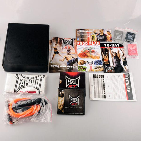 TapouT XT Complete Fitness Program with accessories