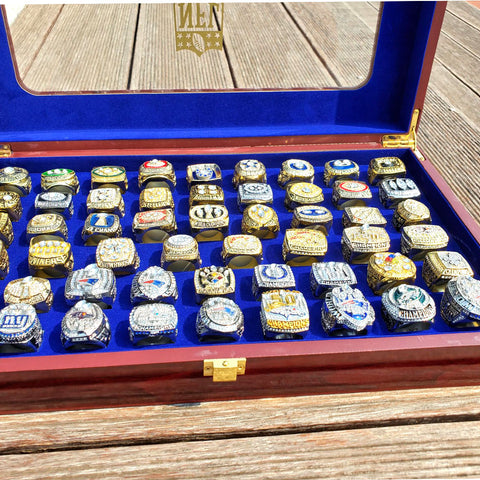 53 Super Bowl Championship Rings From I to LIII Ring Set