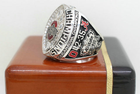 Ohio State Buckeyes College Football National Championship Ring Set