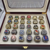 Image of MLB Championship 30 Rings Set From 1986 to 2018