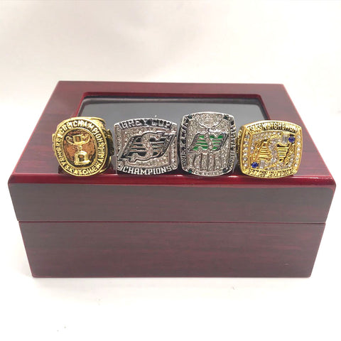 Saskatchewan Roughriders Grey Cup Championship Ring Set
