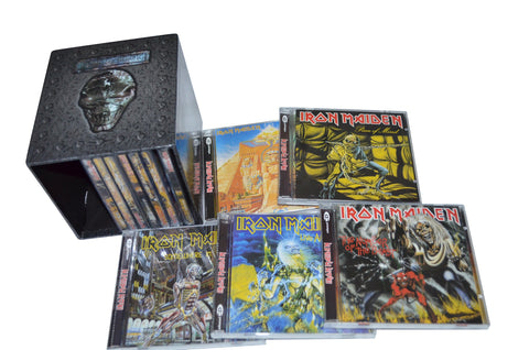 Iron Maiden Complete 12 Albums 15 CD Full Box Set