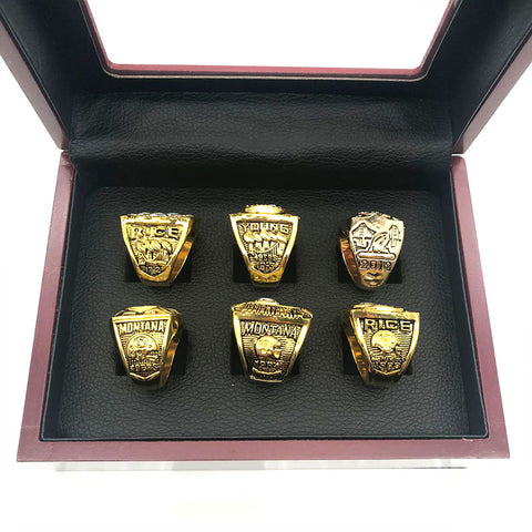 San Francisco 49ers Championship Ring Set