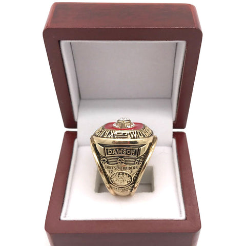Kansas City Chiefs Championship Ring Set