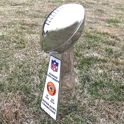 Kansas City Chiefs Super Bowl Trophy
