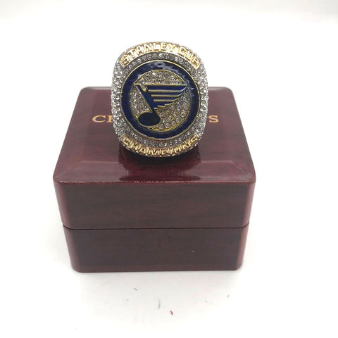 St. Louis Blues NHL Stanley Cup Ring 2019
