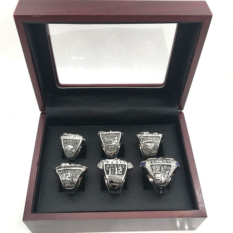 New England Patriots Championship Rings Set