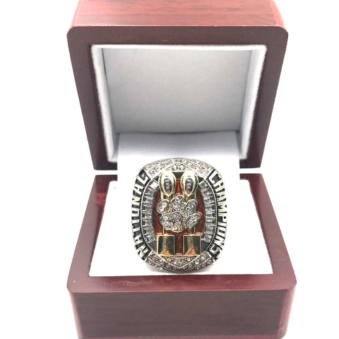 Clemson Tigers Football Championship Rings Set