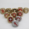 Image of St Louis Cardinals 11 rings set World Series Championship