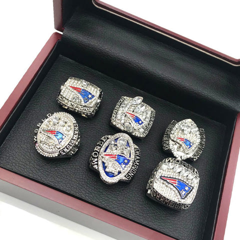 New England Patriots World Football CHAMPIONSHIP RING Full Set