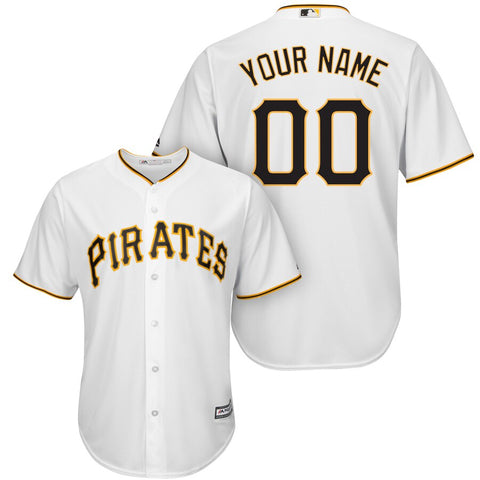 Pittsburgh Pirates Majestic Cool Base Jersey - White