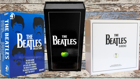 The Beatles in Mono + Stereo Bonus The Beatles Collection 4DVD