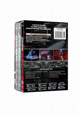 Star Wars: The Complete Series - Episodes I-VI  14 DVD