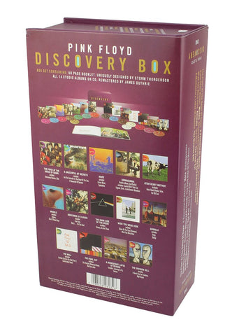 PINK FLOYD DISCOVERY 16 CD+Book Box Set