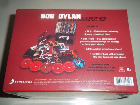 Bob Dylan Complete Album Collection 47 CDs Classical Music Box set