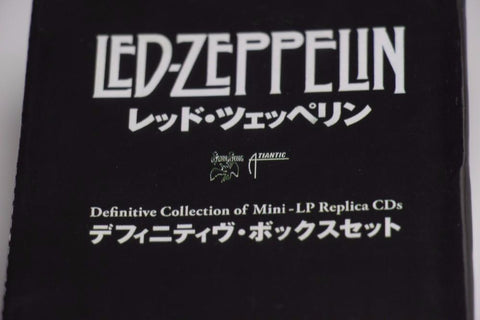 LED ZEPPELIN BOX SET 40TH YEARS ANNIVERSARY 12 CD
