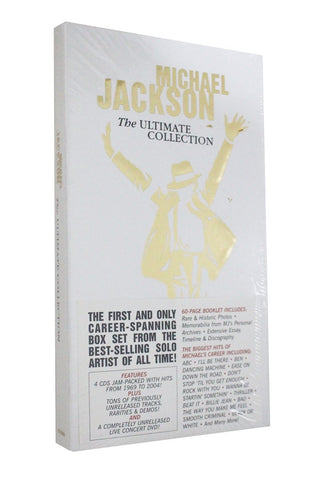 Michael Jackson The Ultimate Collection 4CD+1DVD