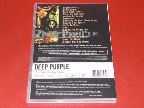 Deep Purple - Come Hell Or High Water