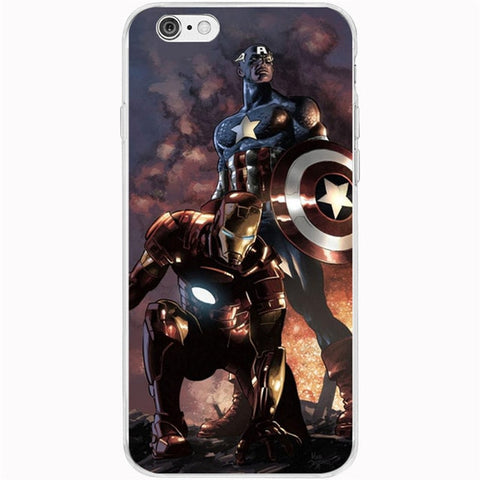 Marvel Superman Case Cover For iPhone