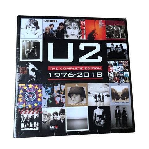 1976-2018 U2 The Complete Collection Edition 22 CD Box Set