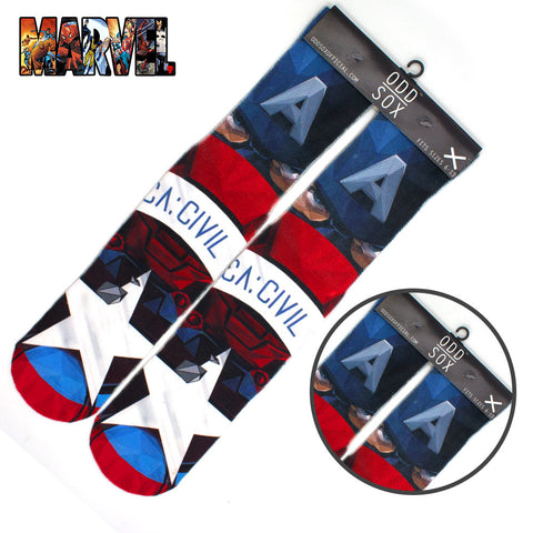 Marvel Captain America Cotton  Socks
