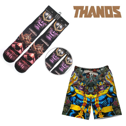 Marvel Avengers: Infinity War Hot Thanos Shorts+Socks