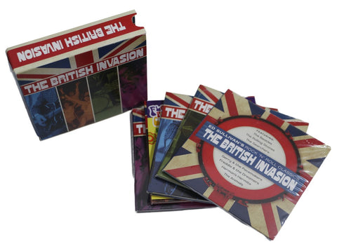 The British Invasion CD Box set (8CD+1DVD)