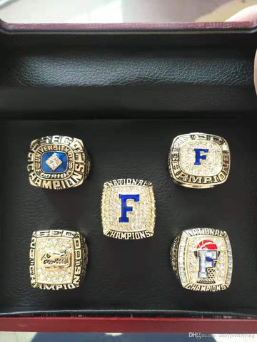 Florida Gators Football NCAA Championship Ring Set