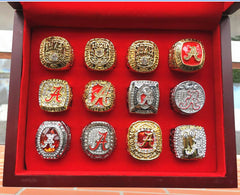 Alabama Crimson Tide Football Championship Ring Set