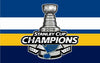 Image of St. Louis Blues 2019 Stanley Cup Champions Flag 90x150cm