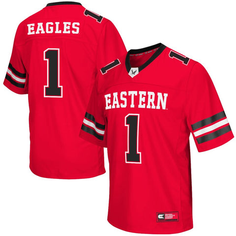 Eastern Washington Eagles Football Jersey - Red