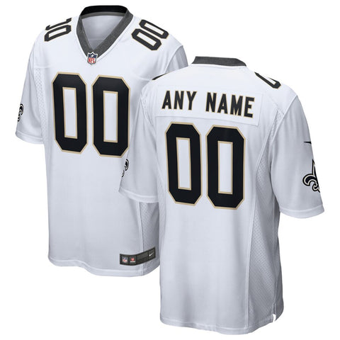 New Orleans Saints Game Jersey – White