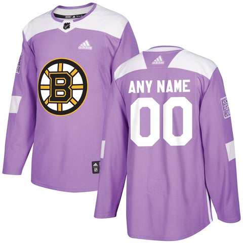Boston Bruins Jersey - Purple