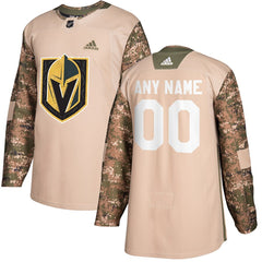 Vegas Golden Knights Veterans Day Jersey – Camo