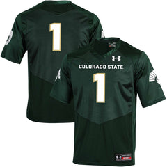#1 Colorado State Rams Football Jersey – Green