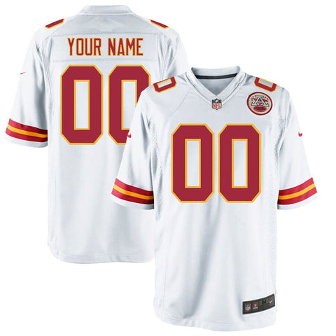 Kansas City Chiefs Game Jersey - White
