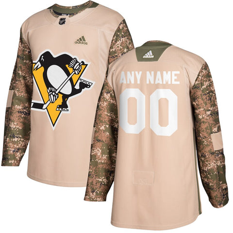 Pittsburgh Penguins Veterans Day Jersey – Camo