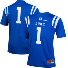 #1 Duke Blue Devils Football Jersey - Royal