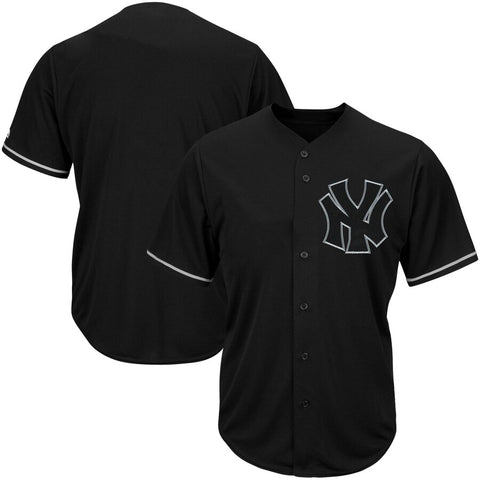 New York Yankees Majestic Cool Base Player Jersey Black