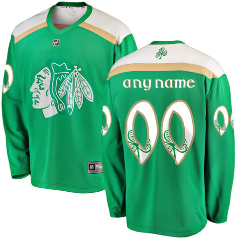 Chicago Blackhawks St Patrick's Day Jersey – Green
