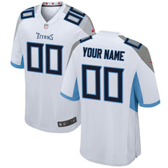 Tennessee Titans Game Jersey – White