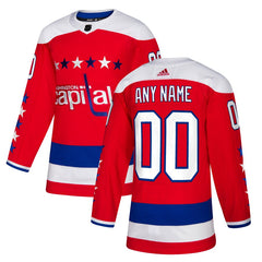 Washington Capitals Alternate Jersey – Red