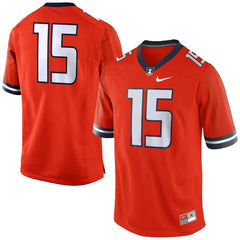 Illinois Fighting Illini #15 Football Jersey - Orange